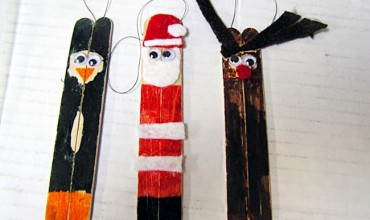 Classic Popsicle Stick Ornaments