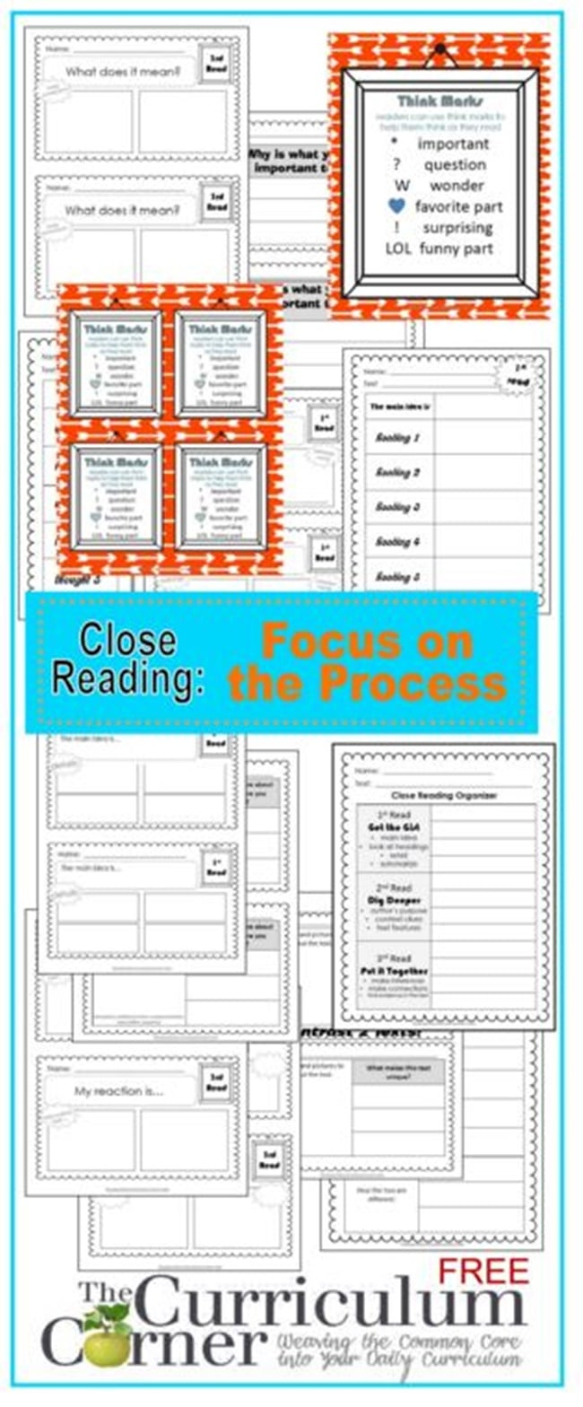 Close Reading: Teaching How to Think - Teach Junkie