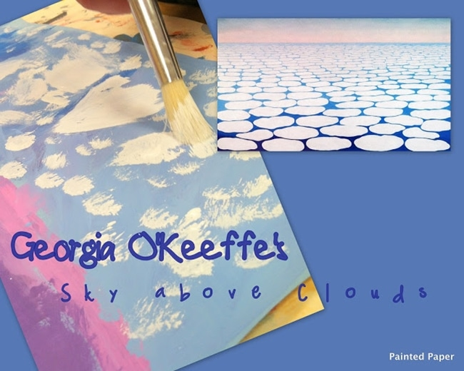 Clouds for Kids 23 Smart Ideas Sky Above Clouds Art Project Teach Junkie