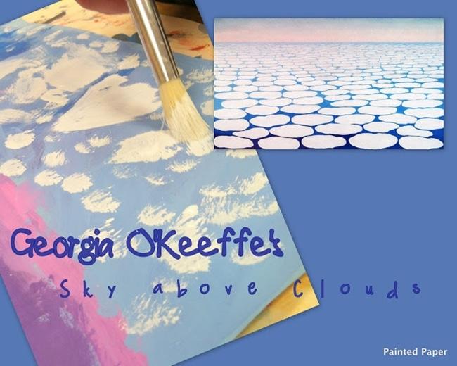 Clouds for Kids 22 Smart Ideas Sky Above Clouds Art Project Teach Junkie