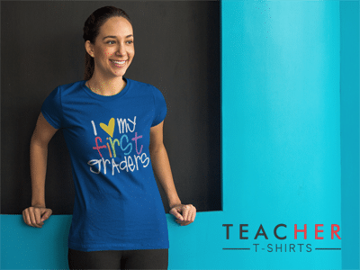 Cute First Grade Teacher T-Shirts