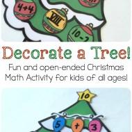 Free Christmas Number Sense Activity