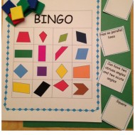 Describing Quadrilaterals Bingo