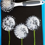 Super Easy Dandelion Art Project