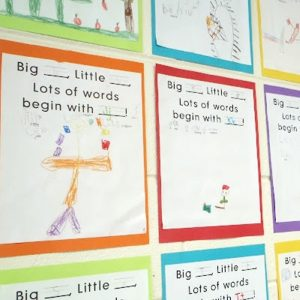 Dr. Seuss' ABC Book Alliteration Activity