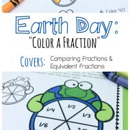 Free Earth Day Fractions Printable Pack