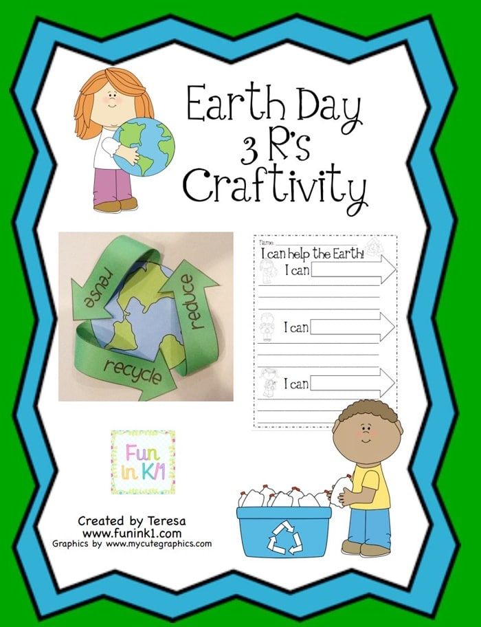 Easy Recycling Earth Day Craft - Teach Junkie