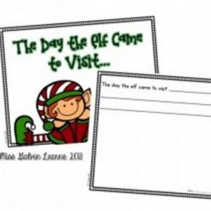 Elf on the Shelf Class Book Printable - Teach Junkie