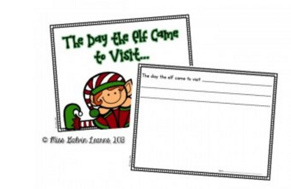 photograph relating to Printable Elf on the Shelf titled Elf upon the Shelf Cl Guide Printable - Educate Junkie
