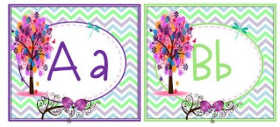 5 Free Printable Word Wall Alphabet Cards Teach Junkie