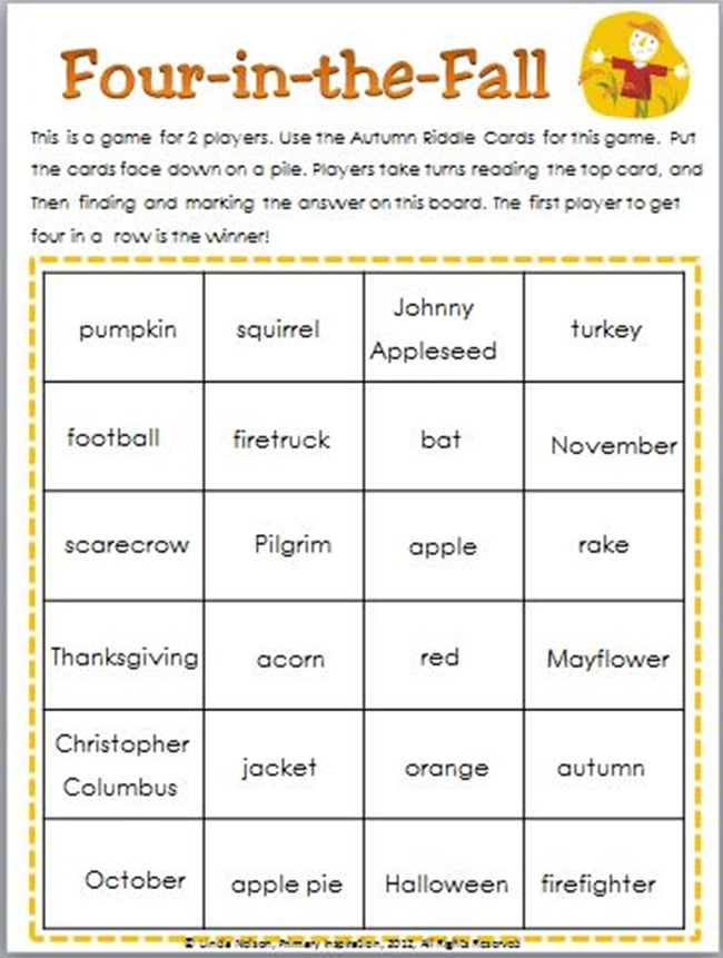 Making Inferences With Fun Fall Riddles - Teach Junkie
