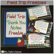 Printable Field Trip Thank You Notes