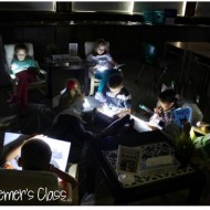 Independent Reading Time: Flashlight Friday