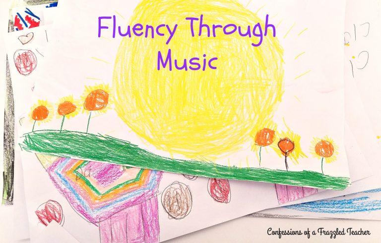 Fluency Through Music - Teach Junkie
