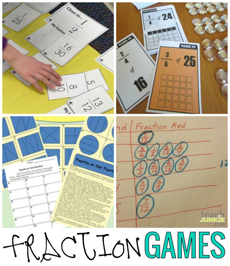 Fractions - 20 Ready to Go Resources and Activities - Teach