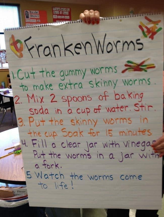 Frankenworm - Teach Junkie