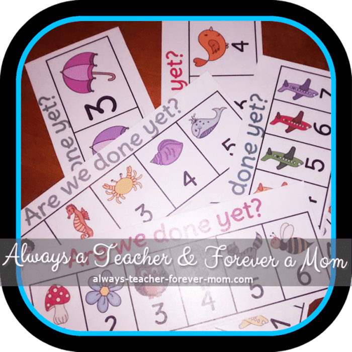 Free April Activities and Printable Resources - activities left in small group session
