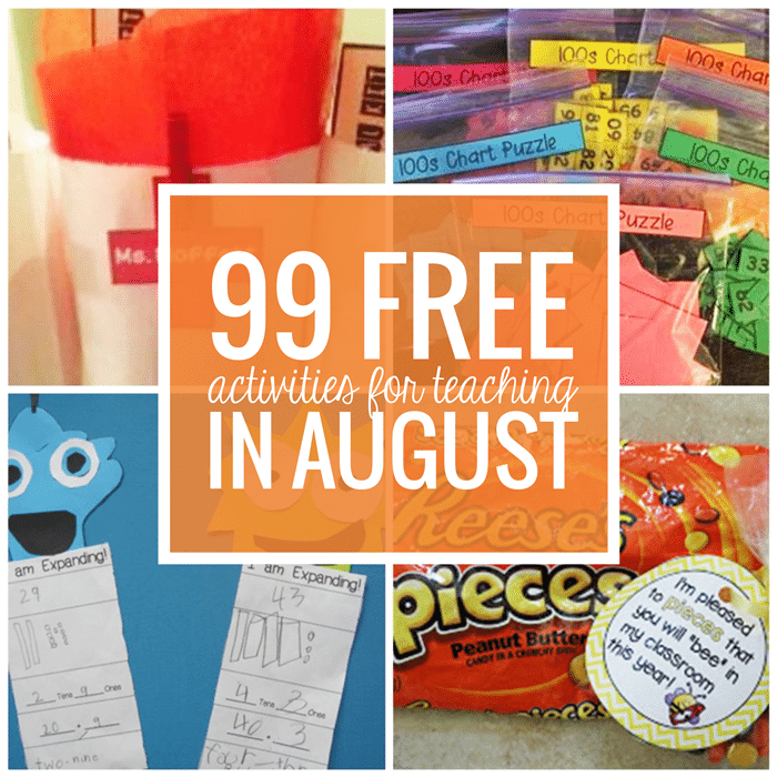 Free August Activities and Printable Resources