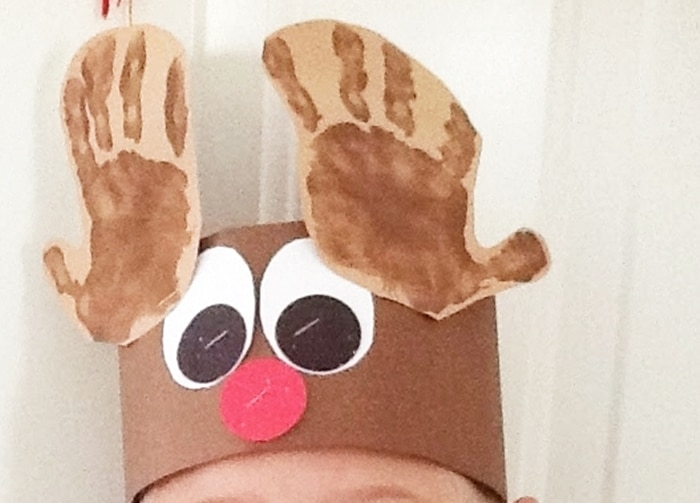 Free December Activities and Printable Resources - Reindeer headband template