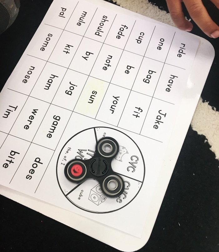 Free January Activities and Printable Resources - fidget spinners worksheet