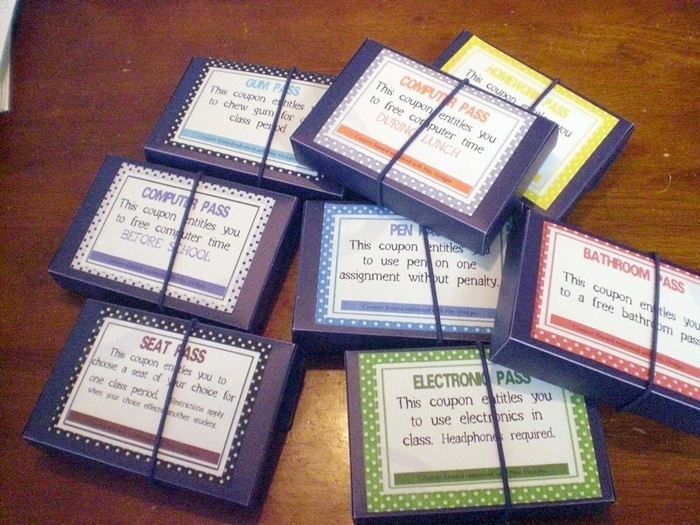 Free July Activities and Printable Resources - student rewards