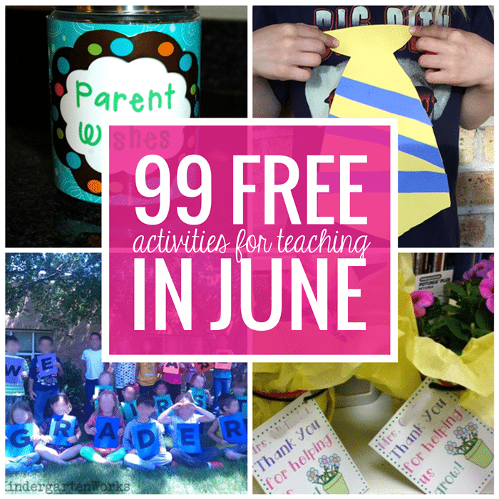 Free June Activities and Printable Resources