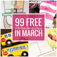 Free March Activities and Printable Resources