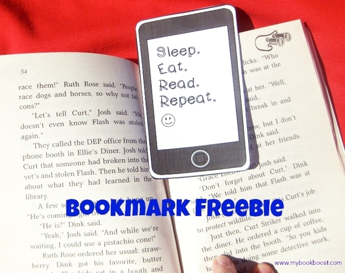 Free March Activities and Printable Resources - iPhone bookmark