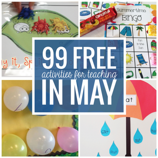 Free May Activities and Printable Resources