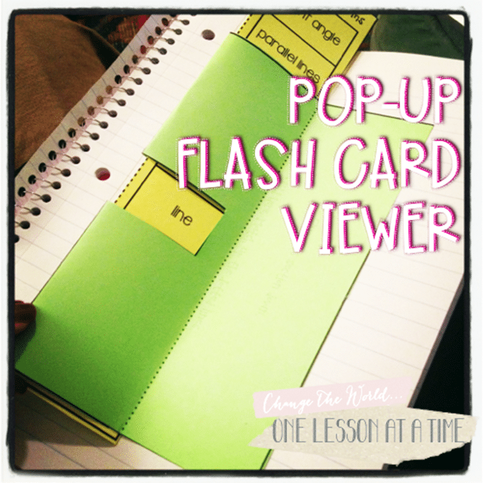 Free November Activities and Printable Resources - notebooking flash cards template