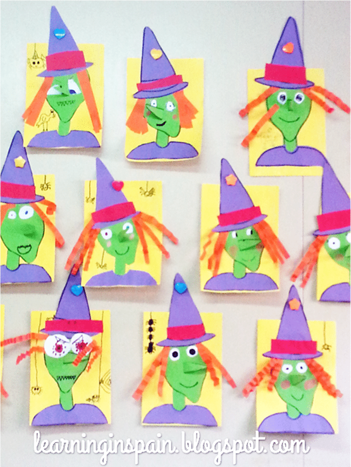 Free October Activities and Printable Resources - Halloween witch craft