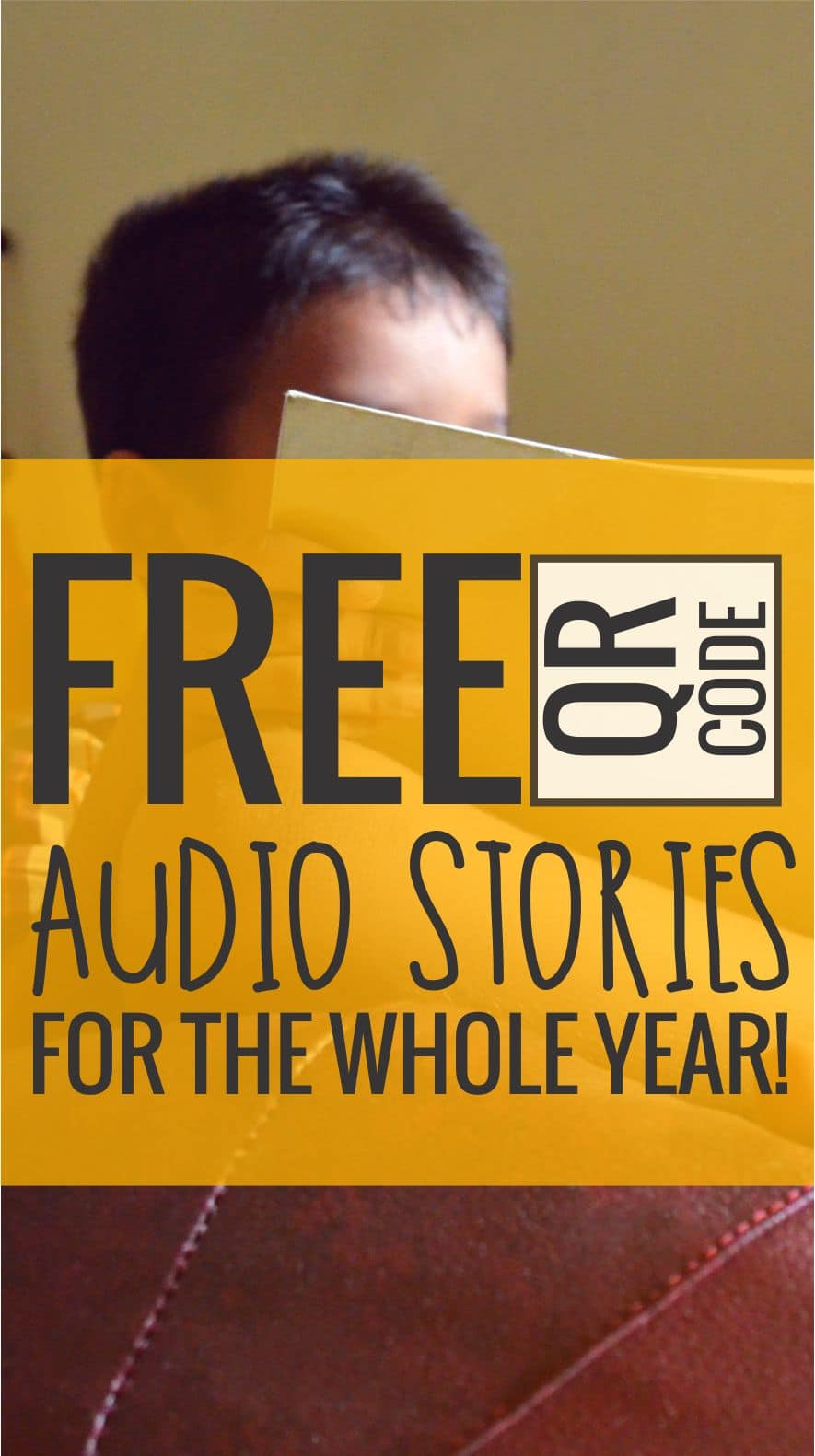 Free QR Code Audio Stories for the Whole School Year