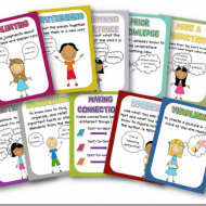 Free Comprehension Strategy Posters and Story Element Posters