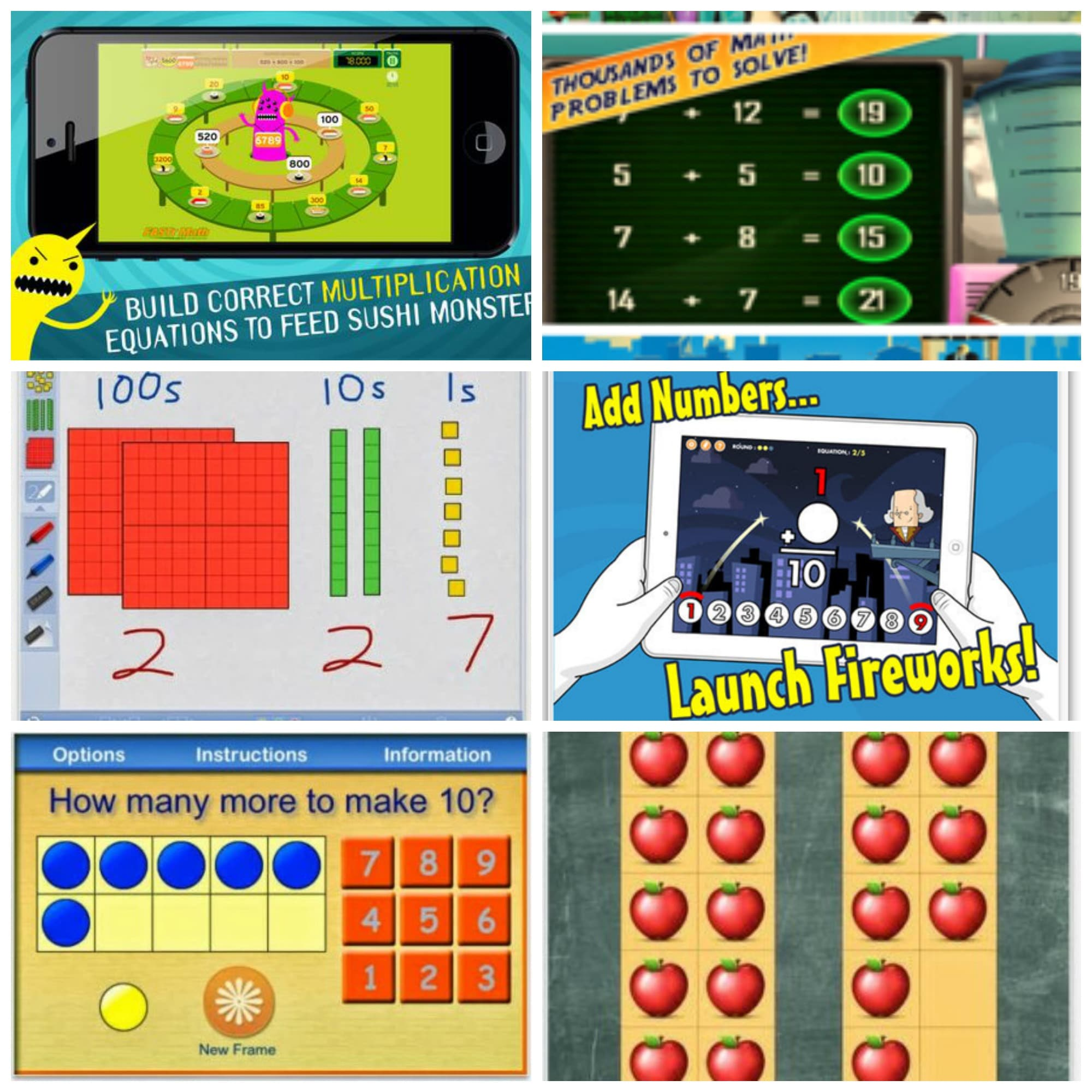 Free math apps for in the classroom - these are great