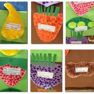 Fun Fruits, Roots, Seeds, Flowers Craft