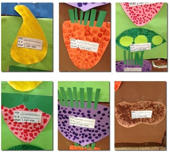 Fun Fruits, Roots, Seeds, Flowers Craft - Teach Junkie