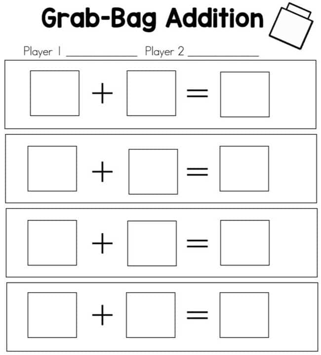 Grab Bag Math - Teach Junkie
