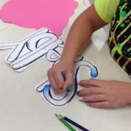 How to Draw Graffiti Art Project