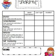 """Guided Reading """"Snapshot"""" Assessments"""