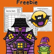 Halloween Worksheets for 2nd Grade {Math}