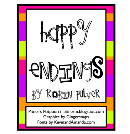 Happy Endings: A Story About Suffixes {Printable} - Teach Junkie