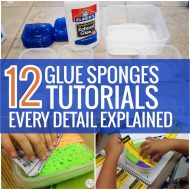 12 Glue Sponges Tutorials – Every Detail Explained
