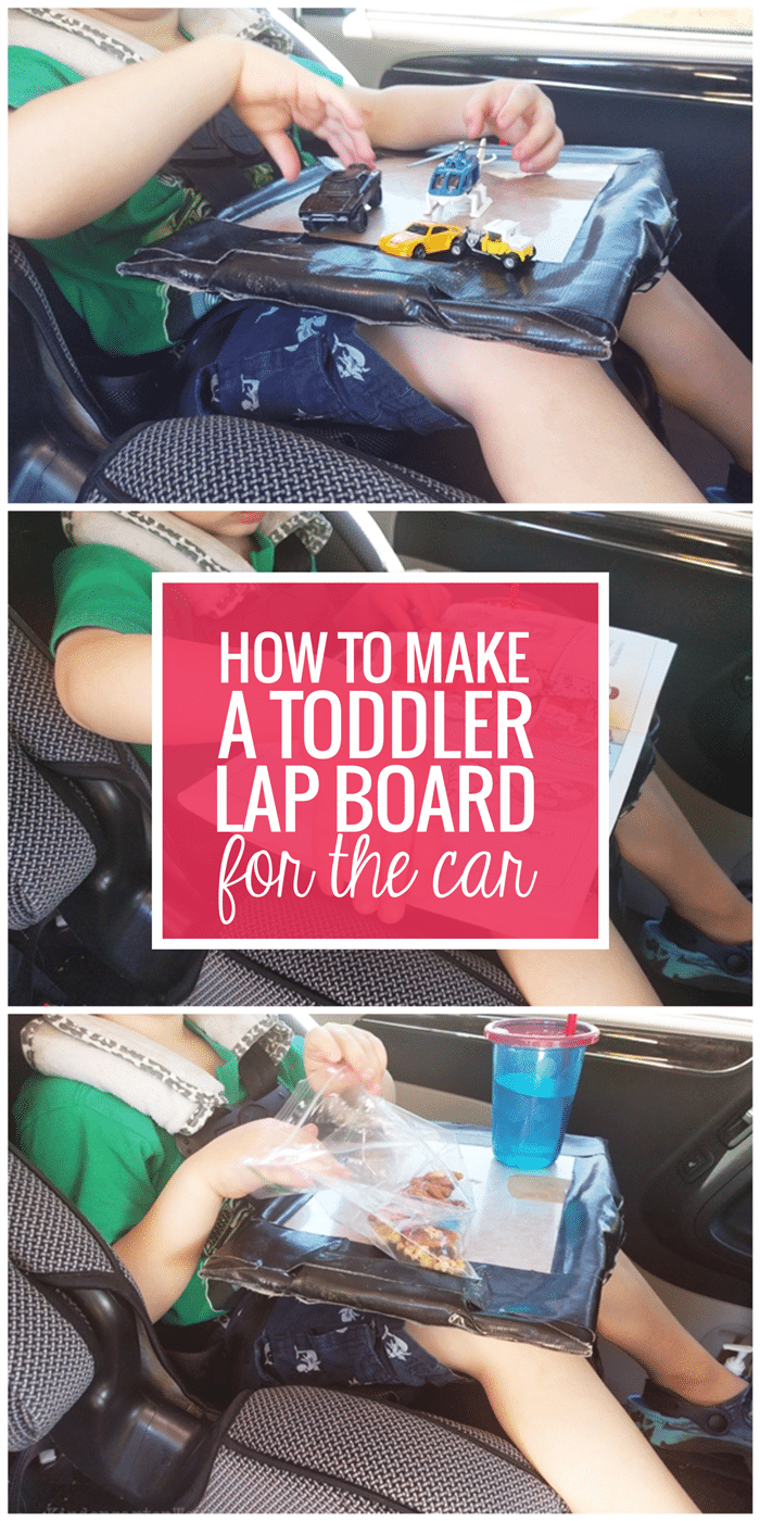 How to Make a Toddler Lap Board for the Car