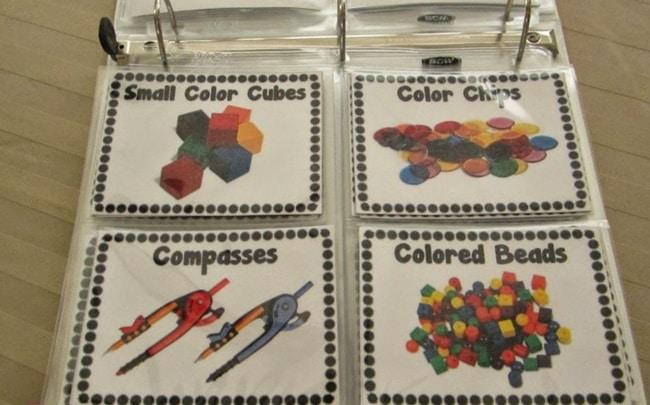 Teacher Organization 101 - Storing Extra Labels - Teach Junkie