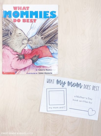What Mommies Do Best Mother's Day Printable Book