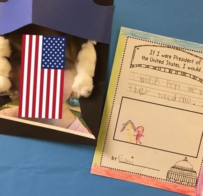 If I were President...  Prompt Writing for Kindergarten - Teach Junkie