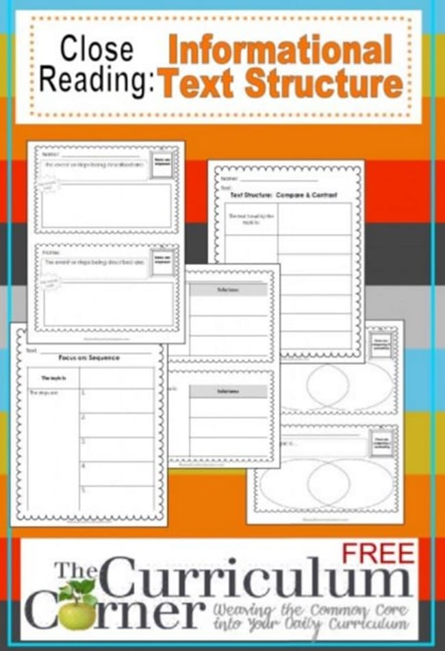 Informational Text Structure - Teach Junkie