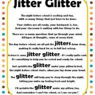 Jitter Glitter Back to School Freebie