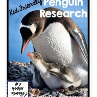 Non-Fiction for Kids: Penguins Research Cards