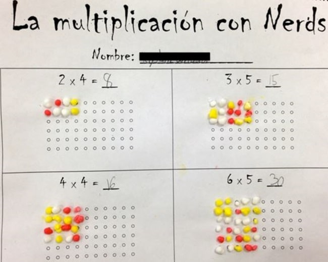14 Easy Multiplication Charts and Tips - La Multiplication Con Nerds - Teach Junkie